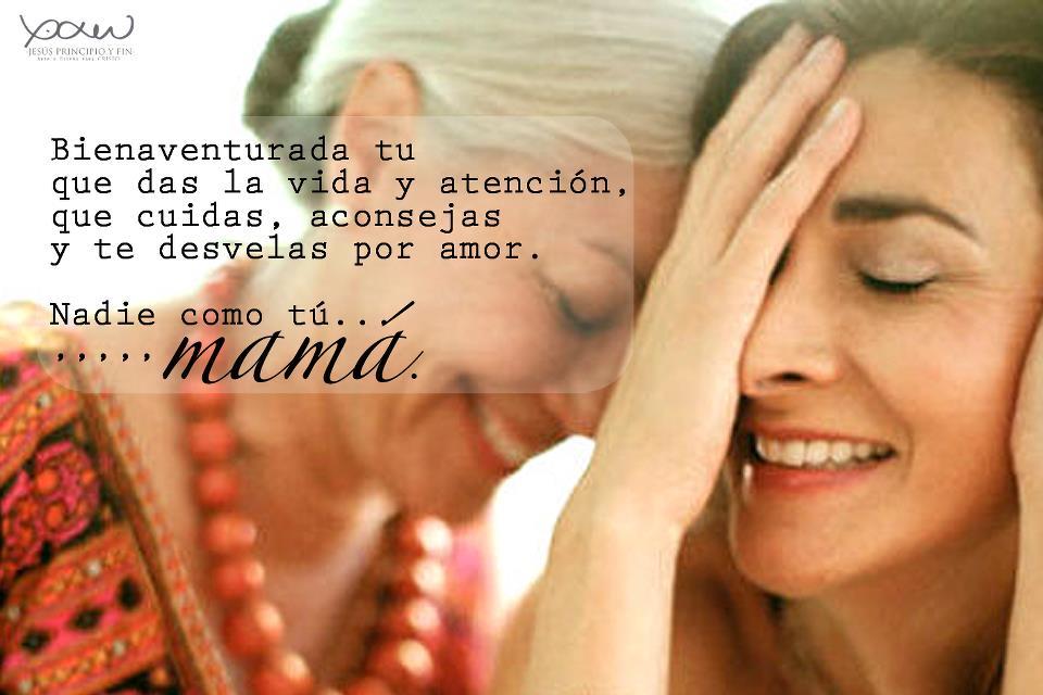 """BELLOS PENSAMIENTOS SOBRE """"MAMÁ""""."""