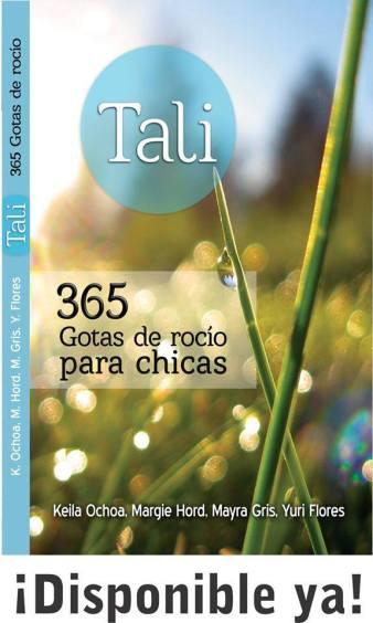 TALI 365 gotas de rocio para chicas, Ediciones Las Américas
